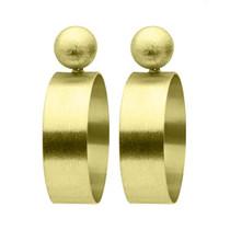 Sheila Fajl Mini Elizzie Earrings, Gold