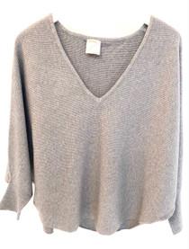 Kerisma Ryu V-neck Sweater, Ash Grey