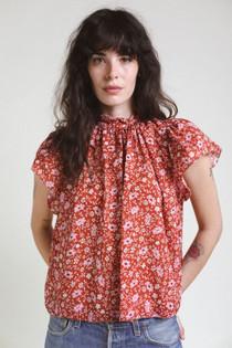 Trovata Carla Shirt, Rose Floral