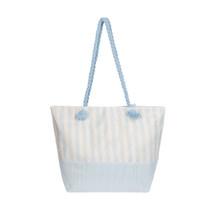 Cabana Beach Bag, Pool Blue