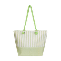 Cabana Beach Bag, Grassy Green