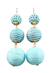 Got the Blues Thread Drop Earrings
