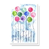 Evelyn Henson Birthday Balloons Card