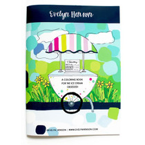 Evelyn Henson Coloring Book, Ice Cream Obsessed