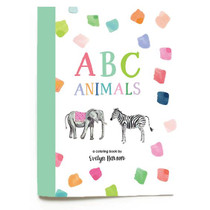 Evelyn Henson Coloring Book, ABC Animals