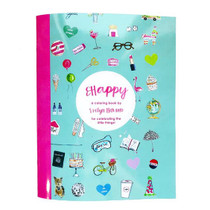 Evelyn Henson Coloring Book, Happy Edition
