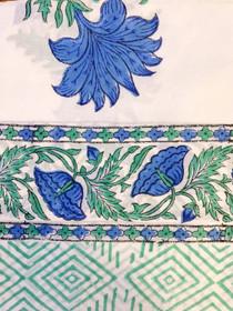 Livro Pareo, Blue Blooms