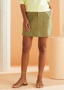 Marie Oliver Braden Skirt, Olive