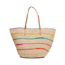 Mar Y Sol Cielo Stripe Shoulder Bag