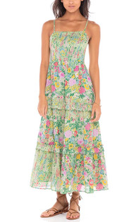Banjanan Hazel Dress, Dawn Chorus