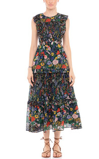 Banjanan Iris Dress, Dawn Chorus