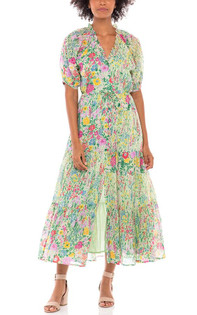 Banjanan Poppy Dress, Dawn Chorus