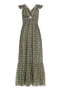 Carolina K Penelope Dress, Blue Shells