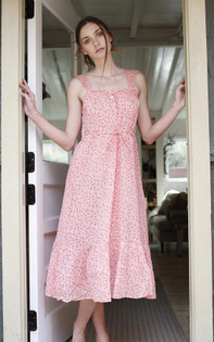 Banjanan Rosalind Gown, Scattered Daisy