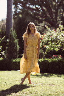Trovata Kristi Dress, Goldenrod