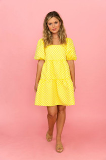 Crosby Saylor Dress, Buttercup