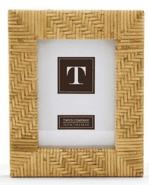 Paradise Rattan Picture Frame, Small