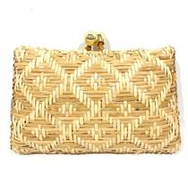 Serpui Charlotte Diamond Wicker Bag