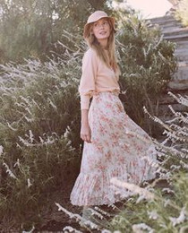 The Great Button Up Skirt, Sweet Pea Floral