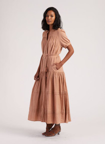 Cleobella Peyton Dress, Tan