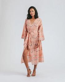 Cleobella Garnet Kimono, Cherry Blossom