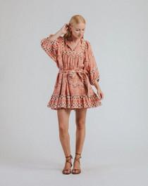 Cleobella Magdalena Mini Dress, Cherry Blossom