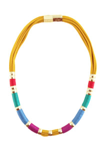 Holst & Lee Sunshine Colorblock Necklace