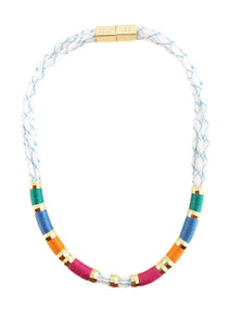 Holst & Lee Summer Sky Colorblock Necklace