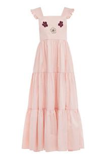 Carolina K Kuna Dress, Petal Pink