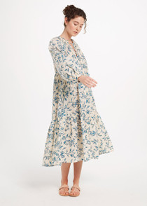 Matta Jaya Birdsong Dress, Milk
