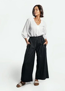 Mirth Beach Pant, Black
