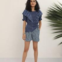 Kopal Rail Short, Blue Lotus