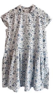 Kopal Tania Dress, White Spun Khadi