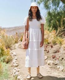 The Great Savanna Dress, White