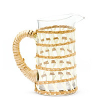 Amanda Lindroth Small Island Wrapped Pitcher, White