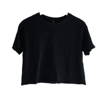 Bobi Cropped Tee, Black