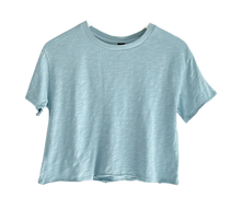 Bobi Cropped Tee, Water