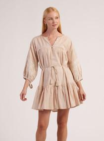 Cleobella Asteria Mini Dress, Blush