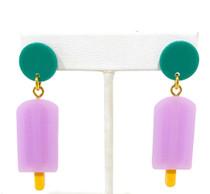 Holst & Lee Popsicle Earrings, Grape