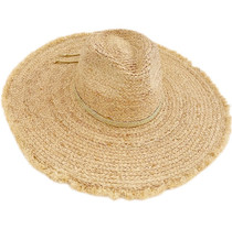 Hat Attack Coverup Sunhat,  Natural/Gold Metallic
