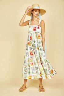 Hunter Bell Poppy Dress, Multicolor