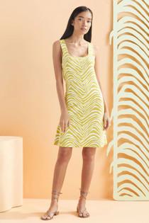 Marie Oliver Marlowe Knit Dress, Olive