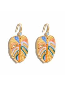 Mignonne Gavigan Mini Palmer Earring, Orange Multi
