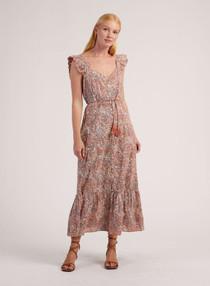 Cleobella Sophia Midi Dress, Marled Print