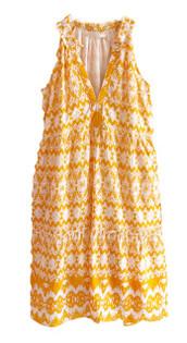Lola Sapphire Midi Dress, Yellow Apple
