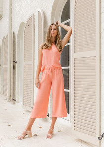 S'edge Cate Crop Pant, Coral