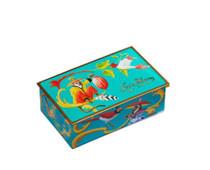 Louis Sherry 2 Piece Chocolate Truffles Box, Singerie Teal