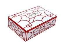 Louis Sherry 12 Piece Chocolate Truffles Box, Coral Bamboo