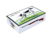 Louis Sherry 12 Piece Chocolate Truffles Box, Bird Dog