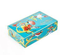 Louis Sherry 12 Piece Chocolate Truffles Box, Singerie Teal